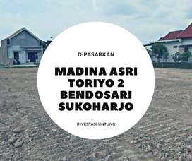Tanah Kavling Rumah Toriyo Sukoharjo kota 3 menit RSUD