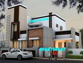 WONDERFUL Villa for sale at VADAVALLI (68 Lakhs)-Vinayagam