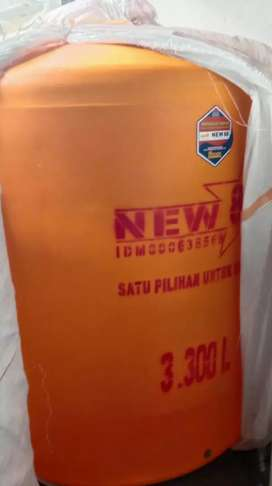 Gudang tandon air 2000 liter wonosari ready tebal