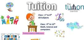 Tution available from maths science and computer class 10th batch star