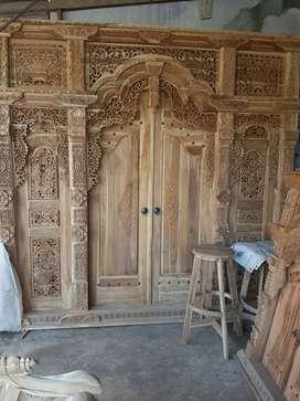 muzaini  kusen pintu gebyok gapuro jendela rumah masjid musholla jati