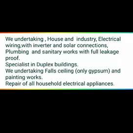 All electrical works are available