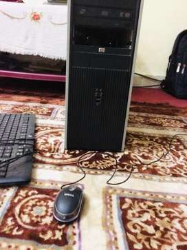 Hp core 2 with lcd