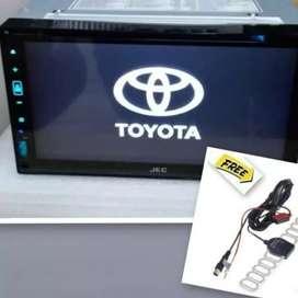 "tv mobil universal di cibarusah #bekasi kab#double din""DVD•VCD*USB^MP3"