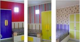 Kos Putri Tematik - Furniture Colorful dekat UB, ITN, UM, UMM II