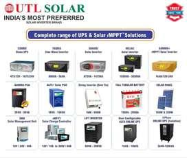 UTL SOLAR Indias most prefered solar inverter Brand.brand