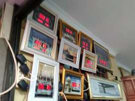 Jam sholat digital untuk rumah