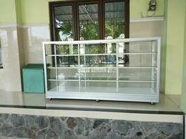 etalase toko / sembako 2 meter *free ongkir