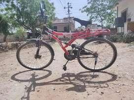 Modern cycle brand shocker and disbreak system