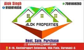 2BHk flats in Sundarpur prime location naria teeraha