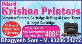 Shree Krishna cartridge Refilling