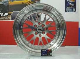 Ready velg mobil Avanza dll R16 HSR Wheel menerima tukar tambah