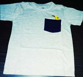 Kaos anak cotton combed