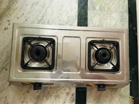 Gas stove ! Full steel body and like NEW. 100% working condition