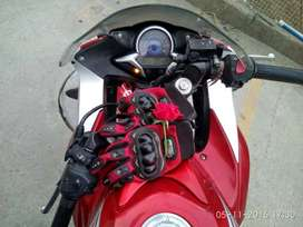 Honda CBR 250R with ABS (Limited Edition) with new battery