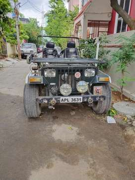 Modified low banet jeep