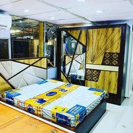 Free mein milega mattress bedroom set ke purchase par