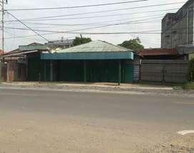 Dijual tanah beserta bangunan