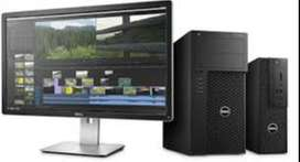 """Desktop 6th gen with 23"""" LED Monitor Core i5 Dell"""