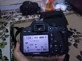 kamera DSLR Canon 1200d +lensa kit
