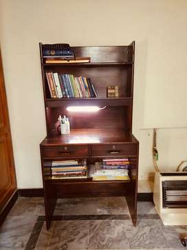 Pure Wood Study Table with Study Chair