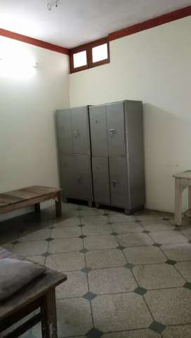 Single room first floor semi-furnished available for rent only girls