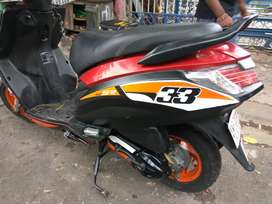 all types bike,scooty, sticker modification done here and number plate