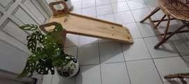 Perosotan wooden mainan bayi balita anak