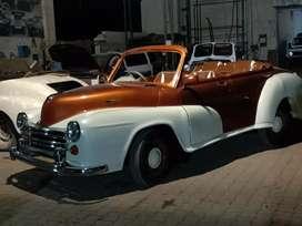 Vintage car in astin look
