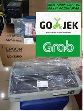 Obral murah Printer Dotmatrix A3 Epson LQ 2190 fulset dus garansi 1th