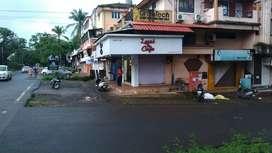Shop for sell at prime location at borda margao