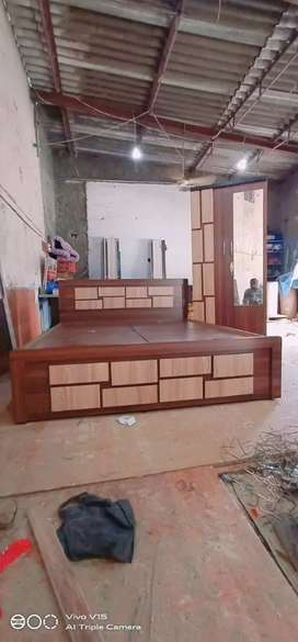 e-tender furniture double bed