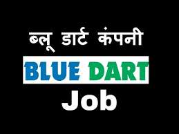 BlueDart process job openings for Counter CCE/ Data Entry/ Backend