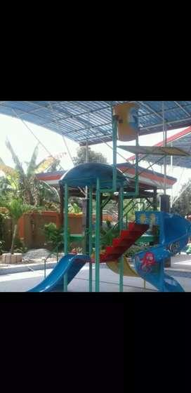 Ember tumpah, waterboom, waterpark