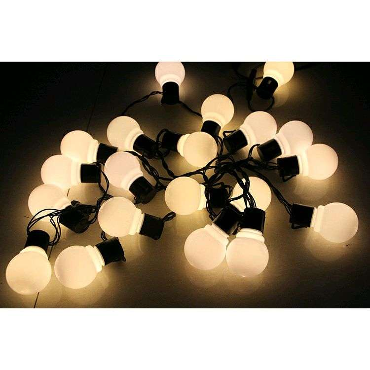 SHHE Lampu Hias Dekorasi Bola Globe String Light 20 LED EU Plug -PD039 0