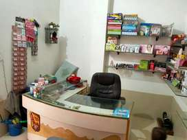 Cosmetic with parlour shop for sale