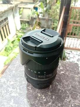 Tamron lens for Nikon DSLR Cameras.  16-300mm