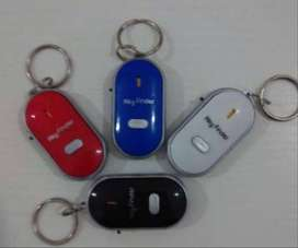 Gantungan kunci siul key finder on off whistle led lamp