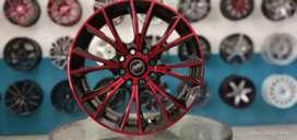 Velg mobil racing murah ring 15x6.5 h8x100/114.3 et38 cocok untuk city