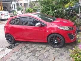 """Mazda 2 type R.jarang pakai..velg racing 16"""" ban radial .."""