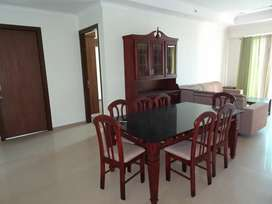 New 3 Bed rooms Semi Furnished flat not Used for Rent