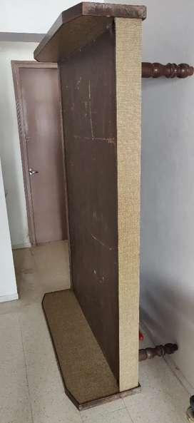 Shaad ka wood original Bed