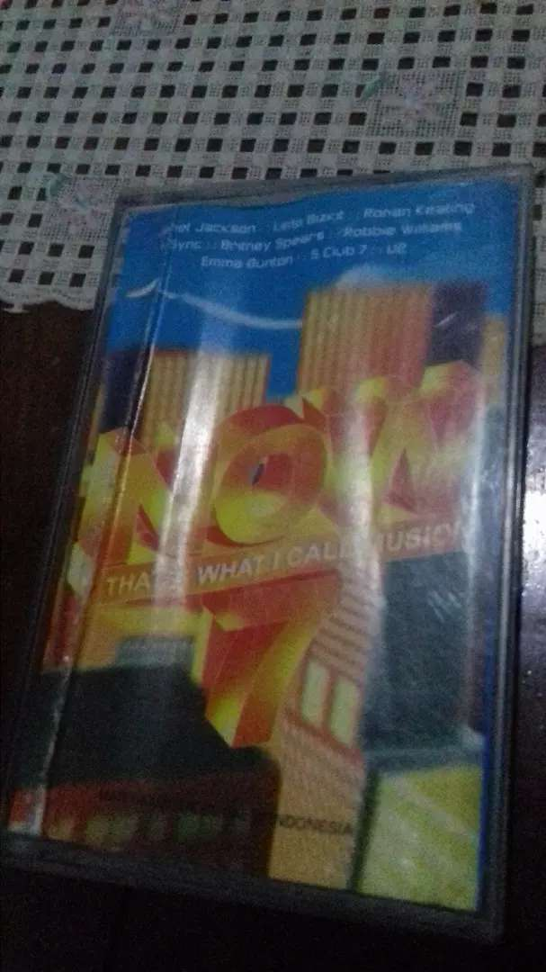 Kaset pita various artist NOW thats what i call music 0