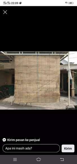 Tirai bambu siip