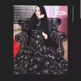 Gamis syar'i free ongkir.. / gamis wanita/ busana muslim
