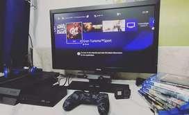 PS4 Orignal full Setup PSVR 8 Games 24.5 Inchs Monitor Benq