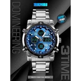 jam tangan SKMEI original double time