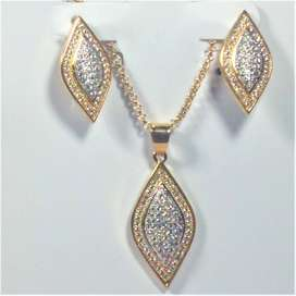 Necklace Set| Gold Plated | Necklace with Earrings