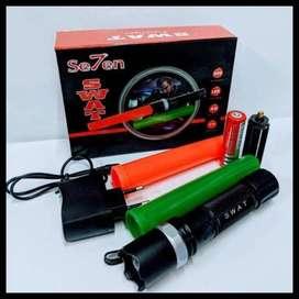 Senter SWAT Police/ 2 lalin double cone LALU LINTAS Tnp CH Mobil