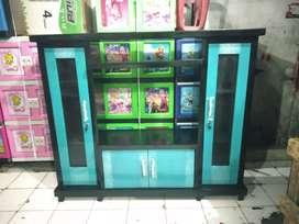 Bufet tv avanza murah / meja tv / lemari tv avanza murah warna hijau t